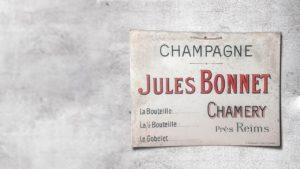 UN PEU D'HISTOIRE DU CHAMPAGNE BONNET