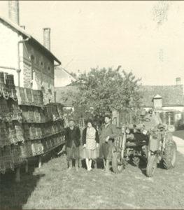 PHOTO DE FAMILLE BONNET CRINQUE